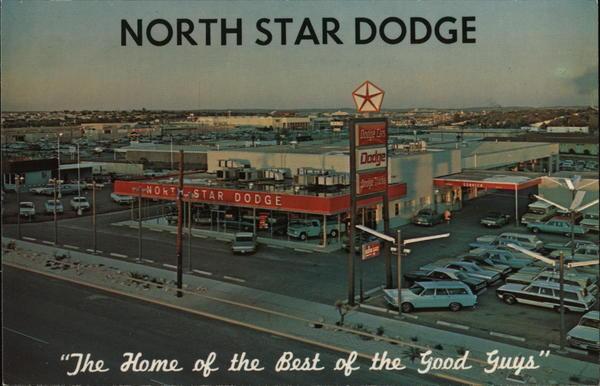 North Star Dodge San Antonio Tx Postcard