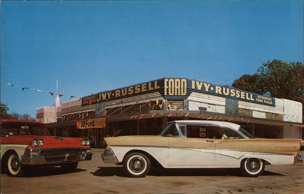 Ivy-Russell Motor Company Houston Texas Cars
