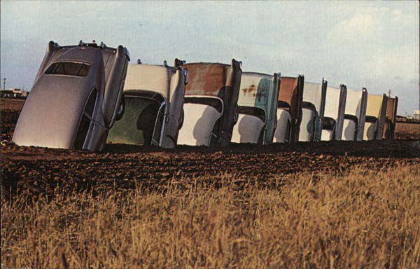The Cadillac Ranch Amarillo Texas