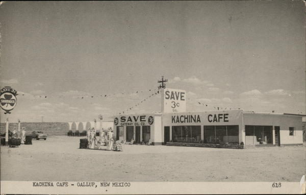 Kachina Cafe Gallup New Mexico