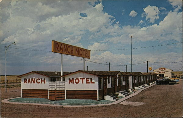 Ranch Motel on Route 66 Holbrook Arizona