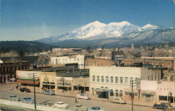Bird's Eye View of Flagstaff Arizona