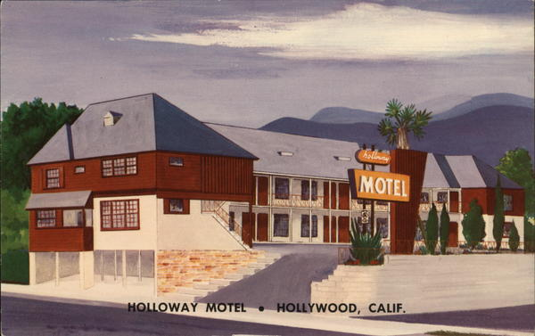 Holloway Motel Hollywood California