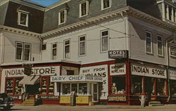 The Indian Store, Moosehead Lake Postcard