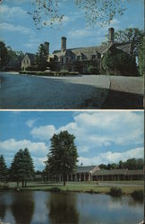 The Beeches Resort, Restaurant, Motor Lodge Postcard