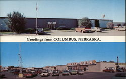 Greetings from Columbus, Nebraska Postcard
