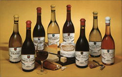 Alexis Lichine Wine Postcard