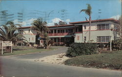 Sunset Apartment-Motel Postcard