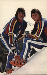 Phil and Steve Mahre, Professional Skiers