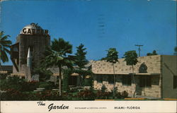 The Garden Restaurant and Cocktail Lounge Postcard
