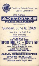 2nd Annual Antiques Flea Market, The Lions Club