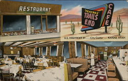 Peaches' Trails End Restaurant Postcard
