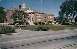 Arlington High School, District #7, Erected 1924