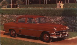 1954 Chevrolet Two-Ten 4-Door Sedan. Morocco Red.
