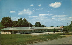 Blair House Motel Postcard
