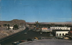 View of Travel Stop Postcard