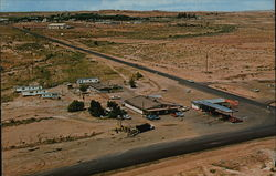 Navajo Trail Shopping Center and Leonard Kilgore Chevron Station
