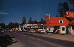 Street Scene in Big Bear Lake