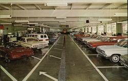 Service Department of Brooklyn Chevrolet Co.
