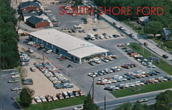 South Shore Ford, ROute 9 Postcard