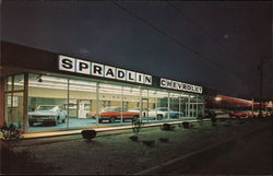 Spradlin Chevrolet Postcard
