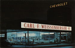 Carl F. Weissenberger, Inc., Toledo's Oldest Chevrolet Dealer