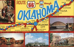 Route 66 Through Oklahoma