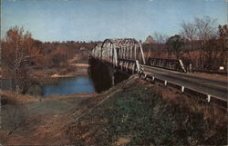 Route 66 Over Gasconade River, Ozarks Postcard