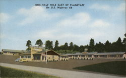 Western Hills Motel & Coffee Shop Postcard