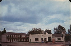 Lane Motel Postcard