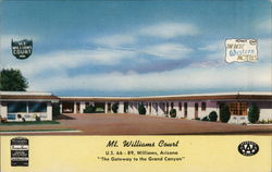 Mt. Williams Court Postcard