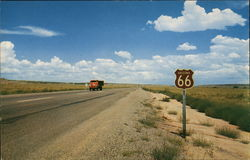 Famous Route 66 Through Northern Arizona