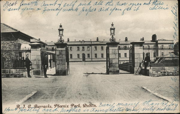 R.J.C. Barracks, Phoenix Park Dublin Ireland