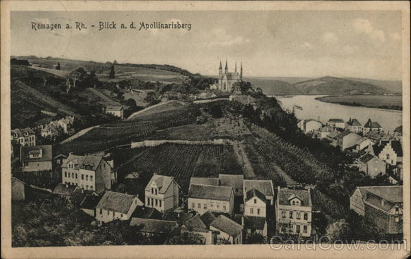 Remagen A. Rh. - Blick n.d. Apollinarisberg Germany