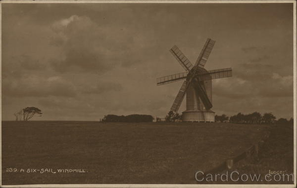 A Six-Sail Windmill UK Windmills
