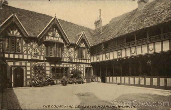 The Courtyard, Leicester Hospital, Warwick England