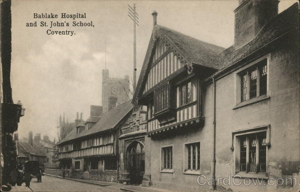 Bablake Hospital and St. John's School Coventry England