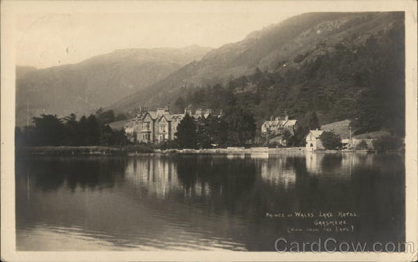 Prince of Wales lake hotel, Grasmere England G. P. Abraham