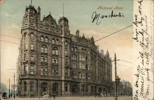 Midland Hotel Manchester United Kingdom Greater Manchester