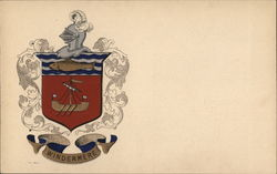 Windermere Coat of Arms Postcard
