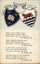 Varsity Oxford City Postcard