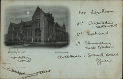 School of Art - Birmingham Postcard
