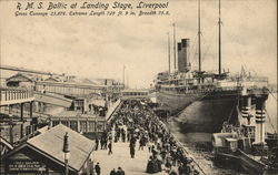 R.M.S Baltic at Landing Stage, Liverpool