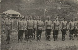 Soldiers in uniform