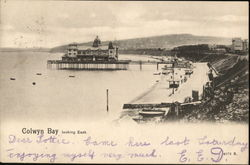 Colwyn Bay looking East