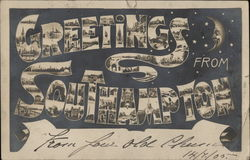 Greetings from Southampton Postcard