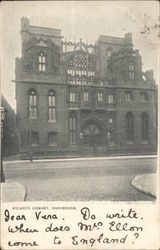 The John Rylands Library, University of Manchester Postcard