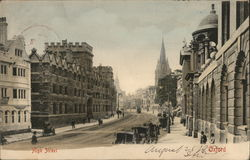 High Street - Oxford Postcard