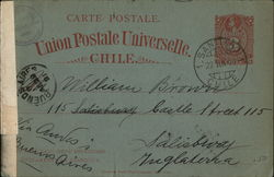 Union Postale Universelle Postcard