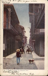 A Narrow Street Postcard
